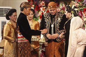 Đám cưới con gái Tổng thống Indonesia 'nói không' với quà tặng