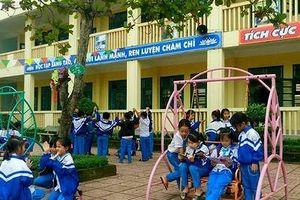 Trường Tiểu học Diễn Trung phát huy danh hiệu chuẩn Quốc gia mức độ 2