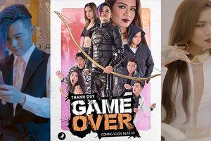 Thanh Duy làm sát thủ diệt thây ma, BB Trần là ác nữ 'trùm cuối' trong phim ngắn 'Game Over'