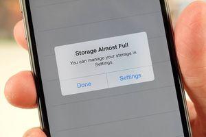 Giải pháp hay dành cho iPhone có bộ nhớ nhỏ