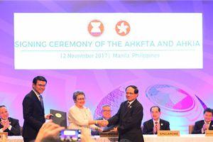 ASEAN ký Thỏa thuận thương mại tự do với Hồng Kông