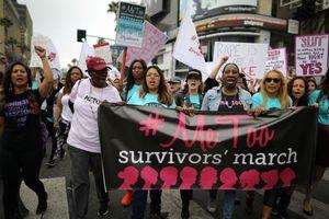 Xuống đường chống lạm dụng tình dục ở Hollywood