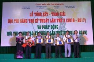 37 giải pháp đoạt giải Hội thi Sáng tạo kỹ thuật tỉnh Bình Định