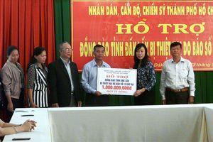 Một tỷ đồng hỗ trợ đồng bào tỉnh Đắk Lắk