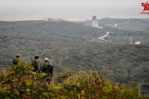 Kinh ngạc tuyến biên giới giữa ba cường quốc hạt nhân Đông Á
