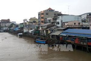 Vĩnh Long: 24 hộ dân sinh sống trong khu vực sạt lở nguy hiểm