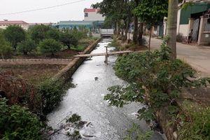 Huyện Thường Tín: 300m mương bị bức tử vì xả thải