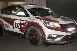 Honda bất ngờ ra mắt CR-V động cơ dầu phiên bản đua