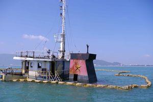 Triển khai trục vớt các tàu bị nạn tại vịnh Quy Nhơn