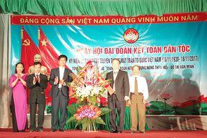 Nhiều huyện ngoại thành tổ chức Ngày hội Đại đoàn kết toàn dân tộc