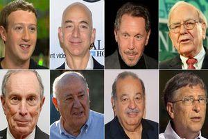 1% người giàu nhất sở hữu hơn nửa số tài sản trên thế giới