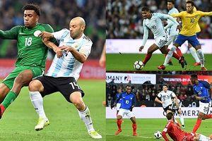 Kết quả giao hữu quốc tế: Argentina bại trận, 'đại gia' châu Âu rủ nhau hòa