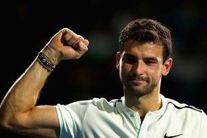ATP Finals 2017: 'Tiểu Federer' Dimitrov thẳng tiến bán kết