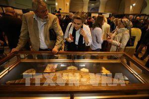 Bảo tàng Ai Cập lần đầu tiên mở cửa 'kho báu của Vua Tut' cho khách tham quan