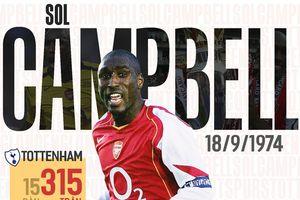 Sol Campbell: Từ Judas đến người khổng lồ của Arsenal