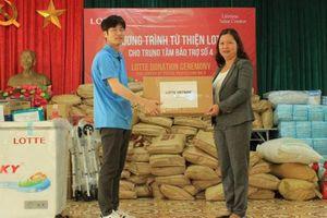 Lotte nỗ lực hoạt động vì cộng đồng