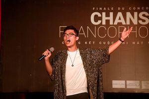 Toàn cảnh đêm chung kết 'Cuộc thi hát tiếng Pháp 2017'