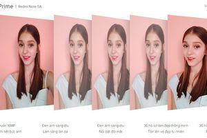 Redmi Note 5A Prime thỏa mãn mọi tín đồ selfie