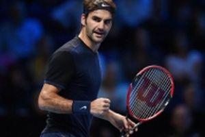 Federer tiếp tục khẳng định sức mạnh vượt trội