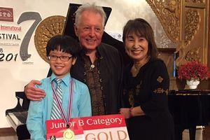 Cao Hoàng Linh đoạt giải nhất cuộc thi âm nhạc thế giới tại Thái Lan