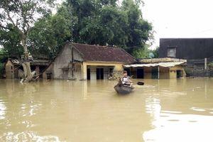 Các sông miền Trung nước lên nhanh, đề phòng lũ lớn, ngập lụt