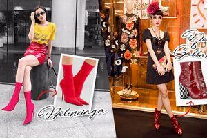 Bốt Balenciaga lọt 'bảng phong thần' 5 phụ kiện hot dễ khiến mỹ nhân Việt 'điêu đứng'