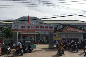 Cà Mau: Người nhà bệnh nhân đập phá thiết bị y tế của bệnh viện huyện