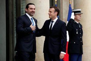 Ông Hariri đến Pháp gặp Tổng thống Macron