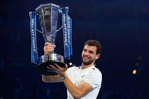 Tay vợt Grigor Dimitrov lần đầu vô địch ATP Finals