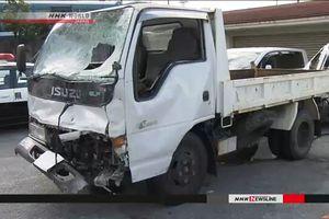 Xe tải quân sự Mỹ làm chết 1 dân thường tại Okinawa, Nhật Bản