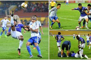 Toàn cảnh chiến thắng 'nghẹt thở' của Hà Nội FC trước Quảng Nam