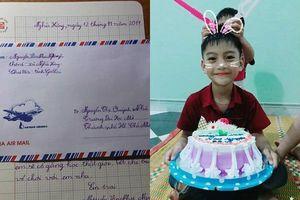 Lá thư em trai 8 tuổi gửi chị gái đi học xa nhà làm thổn thức cộng đồng mạng