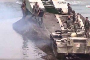 Dàn vũ khí đặc chủng Nga đem lại chiến thắng Deir Ezzor, Syria (chùm video)