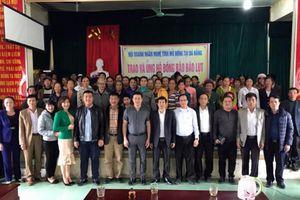 Tấm lòng những người con xứ Nghệ tại Đà Nẵng đến với bà con vùng bão lụt quê nhà