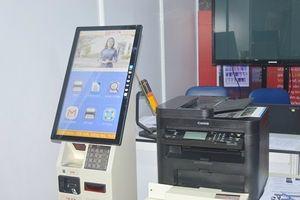 Máy in 'thuần Việt' có thể tự động gửi email báo cáo khi hết giấy