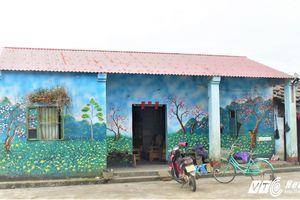 Ngôi làng bích họa độc đáo của người Dao nơi biên giới