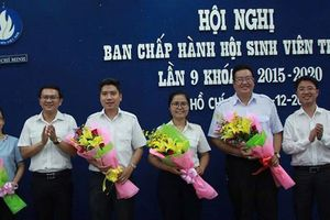 Anh Nguyễn Việt Quế Sơn làm Chủ tịch Hội Sinh viên TP.HCM