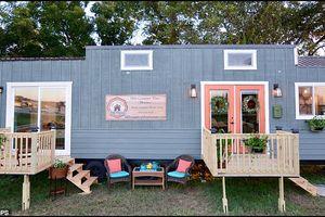 Ngôi nhà di động tuyệt đẹp và tiện nghi khiến bạn muốn bắt đầu ngay một cuộc sống mới