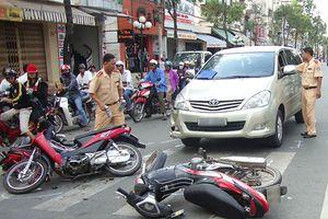 70% số vụ tai nạn giao thông liên quan đến xe máy