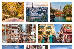 10 thành phố có lượng khách du lịch check - in khủng khiếp nhất trong năm 2017