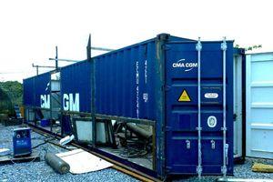 Hải Dương: Bắt nhóm đối tượng trộm hàng chục tấn chì trong container