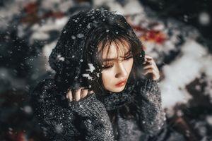 'Rụng tim' khi ngắm ảnh Giáng sinh của hot girl sân Mỹ Đình