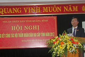 TAND tỉnh Quảng Bình tổ chức hội nghị tổng kết công tác hội thẩm nhân dân