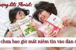 Phượng Liti Florist: 'Lựa chọn hoàn thành công việc lúc đêm muộn để có thời gian dành cho con'