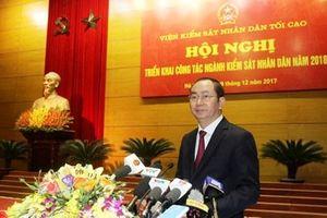 Chủ tịch nước Trần Đại Quang: Ngành Kiểm sát nhân dân đã hoàn thành tốt chức năng, nhiệm vụ