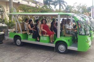 Cần Thơ có xe điện đưa khách tham quan du lịch