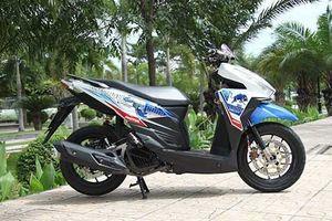 Xe ga Honda Click 125i độ 'siêu chất' tại Sài Gòn