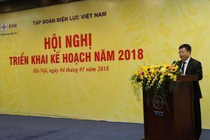 Tổng Giám đốc Tập đoàn EVN và Công đoàn Điện lực VN: Phát động thi đua năm 2018