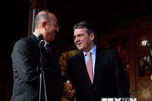 Đức và Thổ Nhĩ Kỳ cam kết làm tan băng mối quan hệ