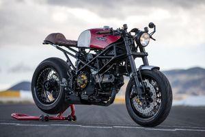 Ducati Monster đẹp mê hồn với bản độ cafe racer